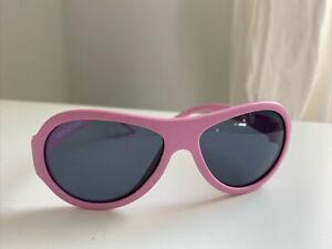Babiators Baby Sunglasses Light Pink Ages 0-3 UV 400 Protection Sun Glasses Kid