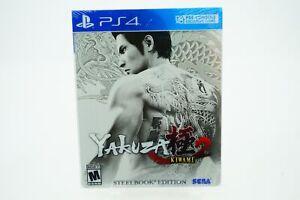 Yakuza Kiwami 2 SteelBook Edition: Playstation 4 [Brand New] PS4