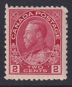 CANADA 1917-22 MINT #106, 2c carmine ADMIRAL ISSUE !! X30
