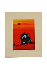 Tawny Frogmouth Print No:1 Sunset Australiana Animals