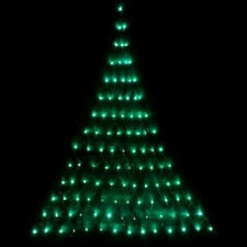 GREEN LED Wall NET Christmas Tree Outdoor Fairy String Garden Low Voltage Lights
