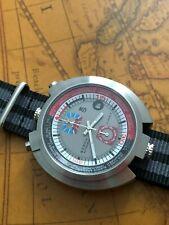 Racing GMT Sorna Automatikuhr Retro Bullhead Watch NOS Style