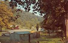 Greenup Kentucky Greenbo Lake State Park Camping Vintage Postcard K98177