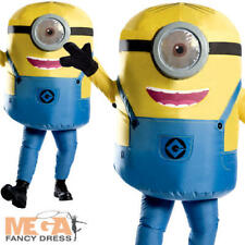 Minions Inflatable Stewart Mens Fancy Dress Despicable Me Adults Minion Costume