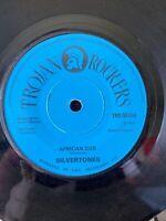 "Silvertones, African Dub  , 7"" Trojan"