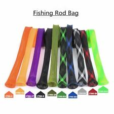 Fishing Rod Bag Protector Pet Mesh Tube Telescopic Rod Protector Handbag Gear