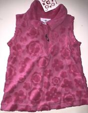 Hanna Andersson Girls 18 24 Month 2T 80 Pink Cotton Terry Flower T Shirt NWT!!