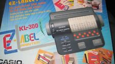 Brand New Vintage Casio KL-300 EZ-Label Printer LOOK!