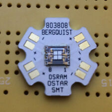 Osram OSTAR Stage Deep Blue 458nm 8W LED Emitter & Star Mounted 130lm