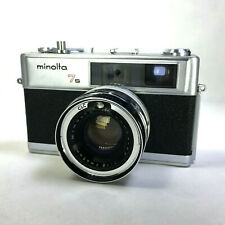 Vintage Minolta Hi-Matic 7s Rangefinder Film Camera 45mm 1:1.8