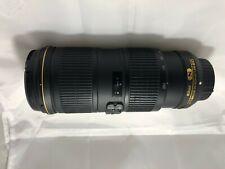 Nikon AF-S NIKKOR 70-200mm f/4G VR Excelentes Condiciones ED