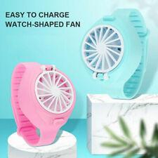 USB Pliable Mode Poche Petit Ventilateur Troisième Gear Électrique Mini Watch US