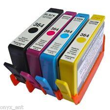 4 nonoem Cartucce di inchiostro per HP 364 XL PHOTOSMART CN216B CN245B CN503B cn503a