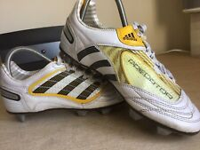 ADIDAS PREDATOR Retro Football Boots Size Uk 5….good Condition..👀 at These..!!
