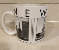 STARBUCKS City Scenes Series NEW YORK Large Coffee MUG 2005
