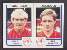 Panini - Football 84 - # 442 Cooper / McMaster - Aberdeen
