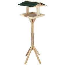 Vogelhaus mit Ständer Futterhaus Futterstelle Futterspender Vogelhäuschen Vögel