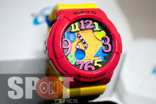 Casio Baby-G Neon Illuminator Ladies Watch BGA-131-4B5