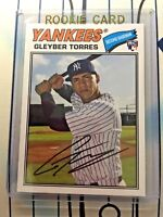 GLEYBER TORRES RC 2018 Topps Archives Baseball #164 Rookie Card New York Yankees