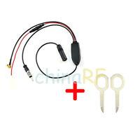 DAB FM/AM CAR Aerial Splitter Cable Digital Radio + Amplifier& Removal Tool
