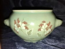 Korean Pale Green Celadon Tea Bowl W/Floral Motif – Signed
