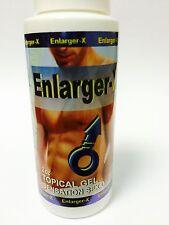 Enlarger X Topical Gel 2 Oz Sensation Sex Oil Ejaculation Retarding Eyaculacion