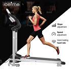 Folding Electric Treadmill Motorized Running Fitness Machine Adjustable Incline