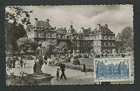 FRANCE MK 1946 PARIS PALAIS LUXEMBOURG MAXIMUMKARTE CARTE MAXIMUM CARD MC d3665