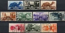 Eritrea 1933 SG#199-208 Used Set Of 10 #A92457