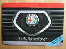 Alfa Romeo GTV Car Brochures
