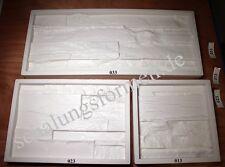 3 Silikon Formen, Kautschuk Schalungsformen Set 3 + Trennmittel