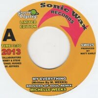 Michelle Weeks My Everything Sonic Wax SW 025 Soul Northern Motown