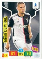 R@RIT@' CARD PLUS  ADRENALYN PANINI XL 2019/20*JUVENTUS,MERLIN DEMIRAL-N.152 BIS