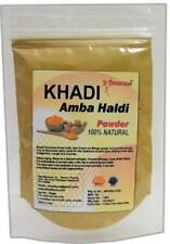 KHADI Omorose Amba Haldi Powder 100g All Hair & Skin Type 100% Pure & Natural