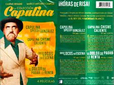 La Colección Capulina: 4 Películas (DVD, 2016) El Dolor De Pagar La Renta