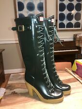 Hunter Lapins Womans Rubber Rain Boots