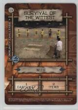 2001 #19 Survival of the Wittest Gaming Card 1t5