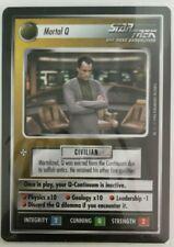 STAR TREK CCG MORTAL Q - Q CONTINUUM (NON-ALLIGNED) RARE CARD