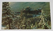 VINTAGE RPPC POSTCARD ~ CALGARY ALBERTA CANADA BANFF SPRINGS HOTEL 1963 POSTED