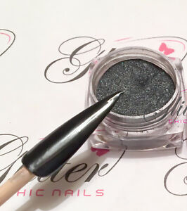 BLACK CHROME PIGMENTS - NAIL ART