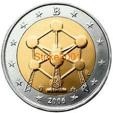 2 EURO COMMEMORATIVO BELGIO 2006 Fdc RARO !
