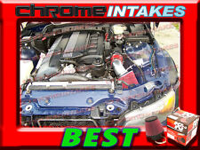 K&N+RED 95 96 97 98 99 BMW M3 3.0 3.0L/3.2 3.2L I6 E36 AIR INTAKE INDUCTION KIT