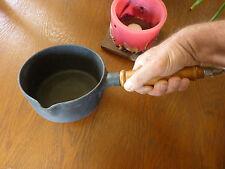 Casserole STAUB n°16 en fonte et manche bois (Made in FRANCE) - Jamais servi