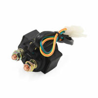 Black 2 Wire Motorcycle   Engine Starter Relay Solenoid for GY6 125