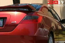 06-11 Civic Tail Light Overlays Blinker Reverse SMOKED TINT Vinyl K20 FG2 JDM