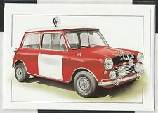 MINI COOPERS PADDY HOPKIRK MONTE CARLO NEW ART PRINT GREETING GIFT BIRTHDAY CARD