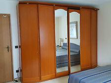 Hülsta – Schlafzimmerschrank mit Kommode Kirsche