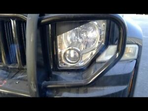 Driver Headlight LHD Chrome Bezel Without Fog Lamps Fits 08-12 LIBERTY 1087423