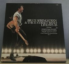 BRUCE SPRINGSTEEN Live 1975-1985 1986 UK 5 X Vinyl LP box set EXCELLENT A