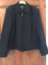 A Klass Collection Size 18 Black Jacket .